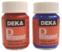 Deka Permanent Fabric paint